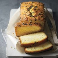 Passion Fruit Drizzle Cake