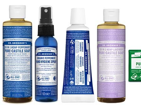 Image of the Dr. Bronner prize bundle