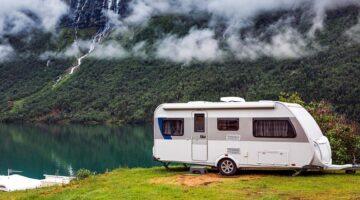 picture of a caravan