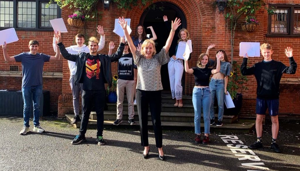 Duke of Kent School Pupils celebrate exam success