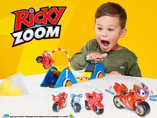 Ricky Zoom Competition