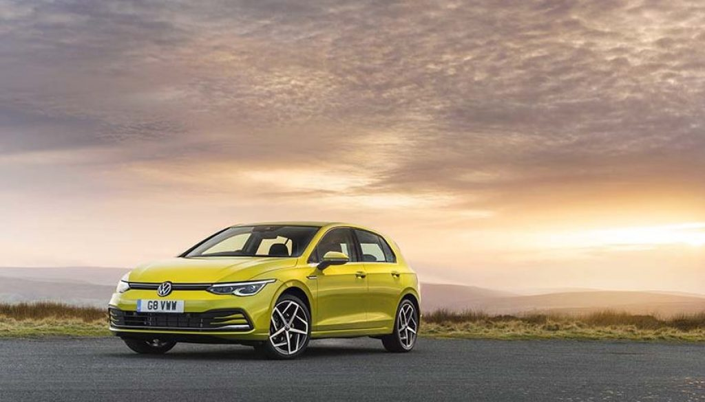 The new VW Golf 8