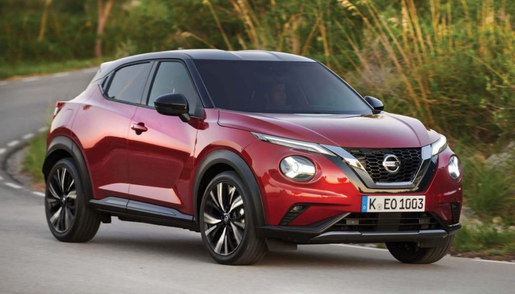 New Nissan JUKE hits the road in Barcelona