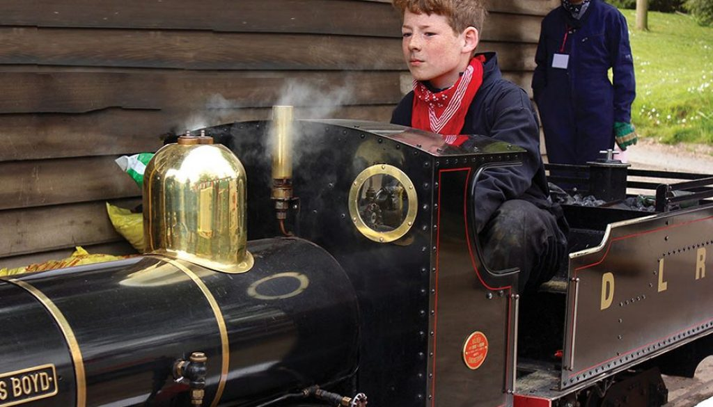 The Downs Malvern and The Downs Light Railway excite young learners