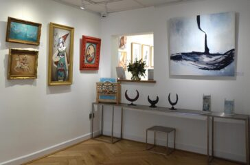 Heart of The Tribe is a new contemporary art gallery based in Glastonbury
