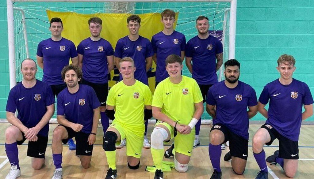 The team at Wessex Futsal Club