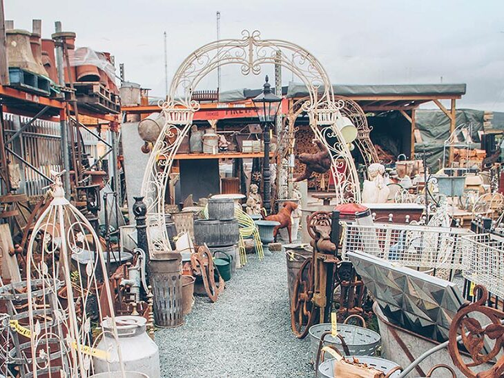 Ludlow Salvage Company is a treasure trove of materials and architectural products