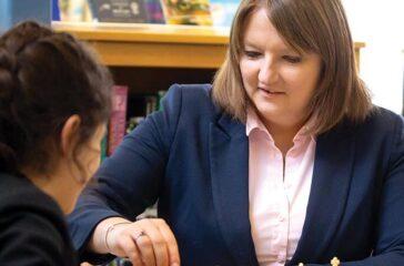 Meet the Head Helen Cullen at Sexey's School Bruton