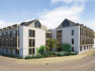 Designer apartments at The Old Tannery, Ely