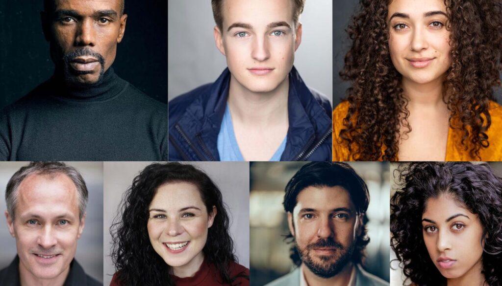 Capitol Horsham Aladdin 2021 Cast Group